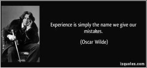 OscarWilde.Experience